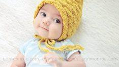 Bebeğiniz İçin Harika Örgü Şapka Modelleri