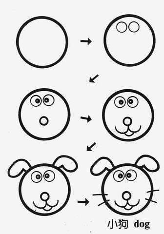 cocuklar-icin-dairesel-sekillerden-hayvan-resimleri-cizme-4