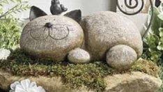 Doğal Taşlarla Yaratıcı Dekorasyon Fikirleri