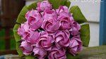 El İşi Kağıdından Çiçek Demeti Yapımı