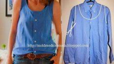 Kullanılmayan Kıyafetlerden Yeni Parçalar