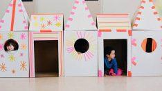 Karton Oyuncaklarla Çocuklarınızı Mutlu Edin