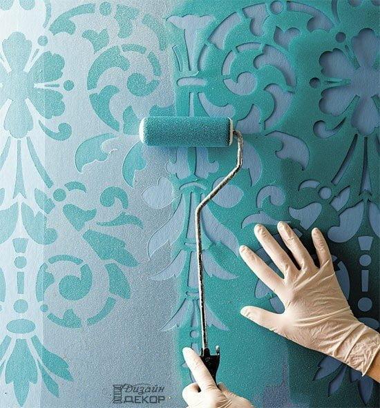Как обновить обои под покраску