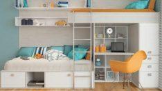 Genç Odaları İçin Harika Alan Kazandırıcı Çözümler
