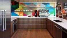 Mutfağınız İçin Göz Alıcı, Geometrik Tezgah Arkası Tasarımları
