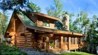 Olağanüstü Kütük Evler