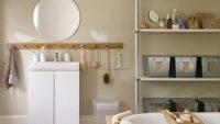 Seveceğiniz, Şaşırtıcı Açık Banyo Depolama Fikirleri