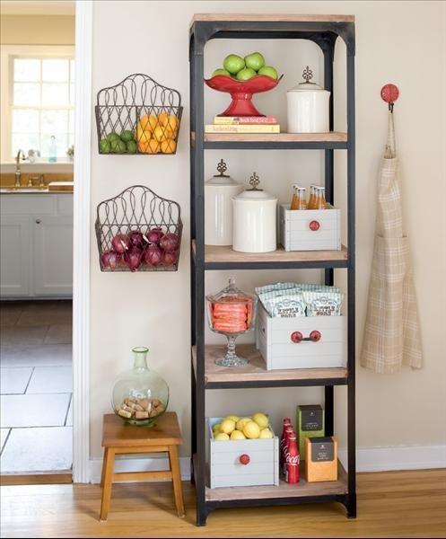 Meyve ve Sebzelerinizi Depolamak İçin Oldukça Kullanışlı Fikirler