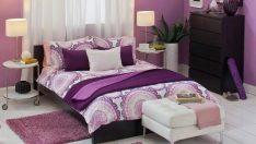 Yatak Odaların'da Mor Renk Tercihi!