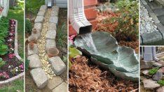 Bahçe Düzenlemesi için 10 Kuru Dere Yatakları