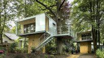 Berlin'de Bulunan Şirin Ağaç Evler