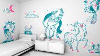 Çocuk Odası Duvar Tasarımı: Eğlenceli Duvar Etiketleri