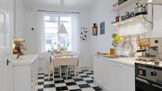 İsveç'ten Güzel Beyaz Mutfak Modelleri