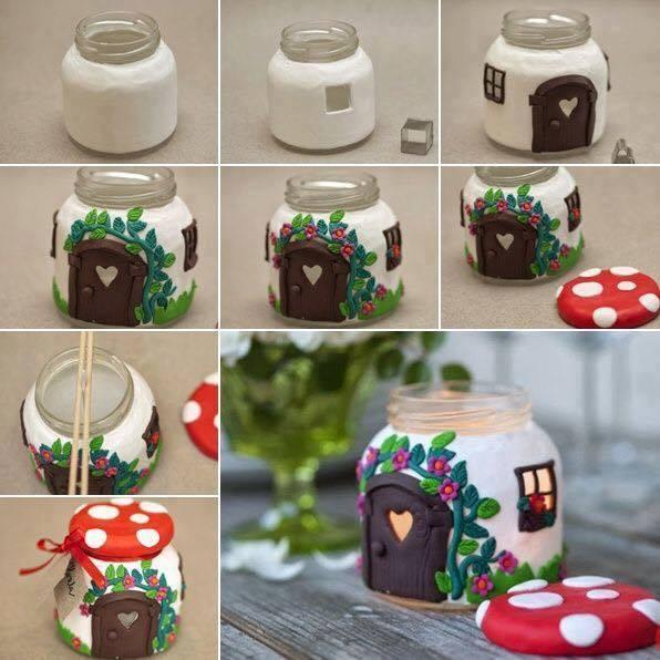 Create Amazing Decor Ornaments Using Jars!