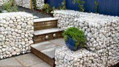 Taşlar ile Yapılan Göz Alıcı Bahçe Duvar Modelleri