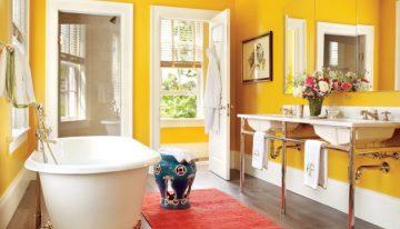 10 Muhteşem Renkli Banyo Modelleri ve Fikirleri