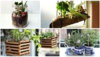 15 Tane Evinizin İçinde Bir Bahçe Hissi Yaratacak Harika Fikir