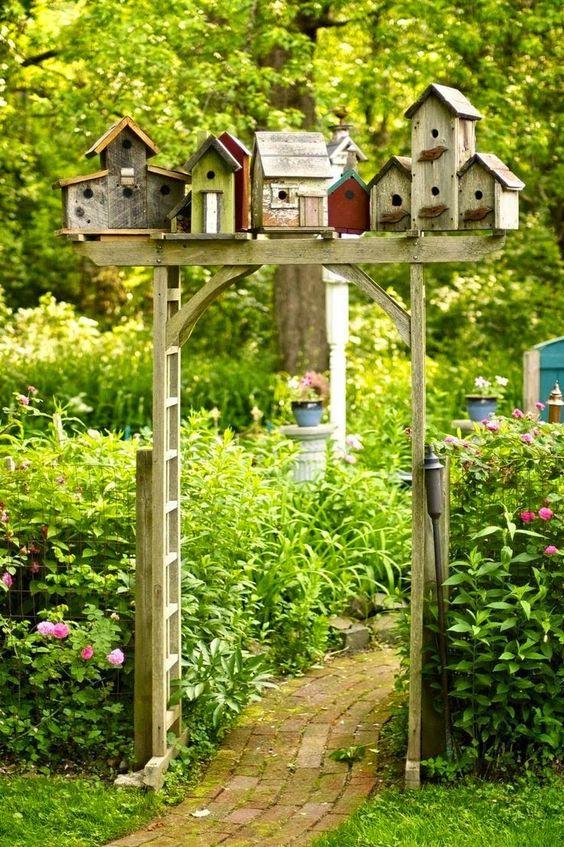 19 Bahçe Dekorasyon Fikri