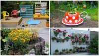19 Harika Tasarlanmış Ve Sizi Etkileyecek Bahçe Dekorasyonları