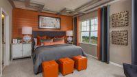 16 Entelektüel ve Turuncu Rengi Eklenmiş Olan Yatak Odası Modelleri