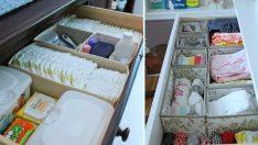 Bebek Eşyaları'nı Düzenlemek için Çözüm Önerileri