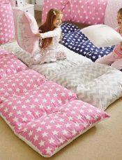 Çocuk Odası için Çok Fonksiyonlu Yer Yatağı