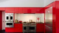 Görmeniz Gereken 17 Tutkulu Kırmızı Mutfak Modelleri