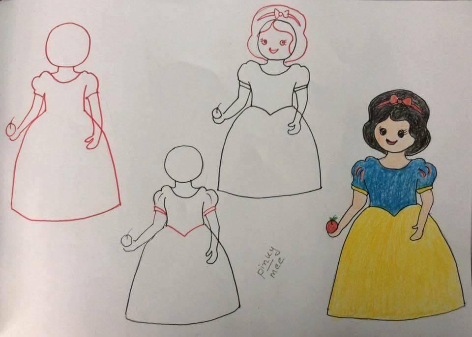 3 Pamuk Prenses Ev Düzenleme
