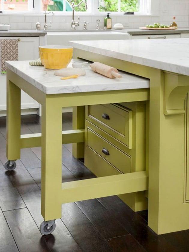 Küçük Mutfakları Düzenlemek İçin 15 Büyük Fikir
