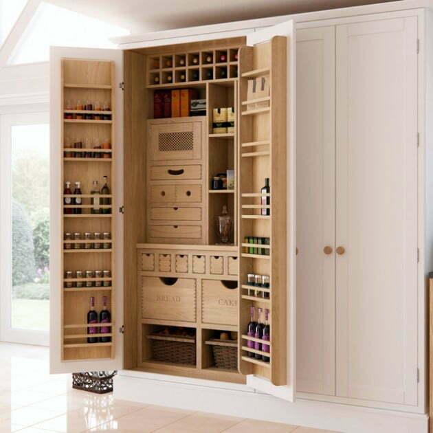 Modern kiler dolab 19 ev d zenleme for Muebles de cocina despensa