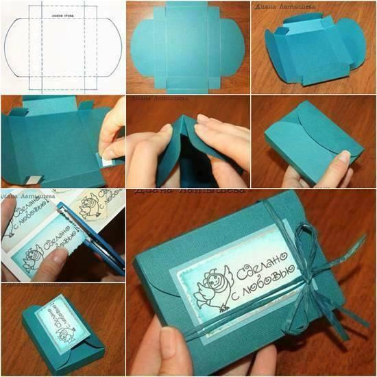 Сделать подарочные упаковки своими руками