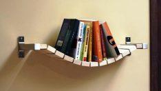 15 Akıllıca Tasarlanmış Kendin Yap Kitaplıklar