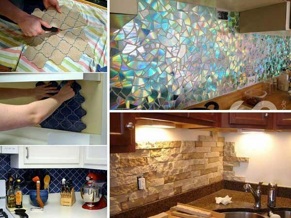 24 Adet Kendin Yap Mutfak Tezgah Arkas Fikirleri Ve