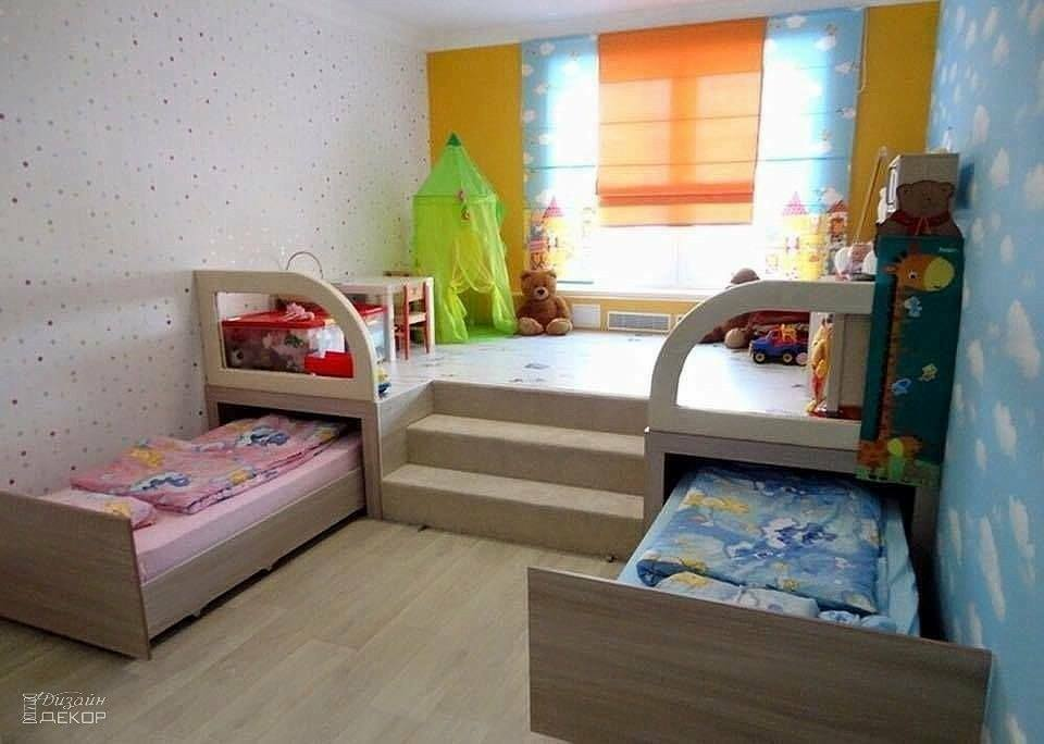 Alan tasarruflu ocuk odas dekorasyonu ev d zenleme Kid room ideas for small spaces