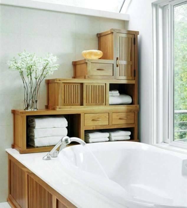 Ideas for bathroom storage