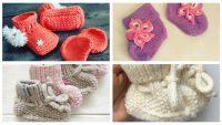 Bebek Örgü Patik Modelleri ve Örnekleri