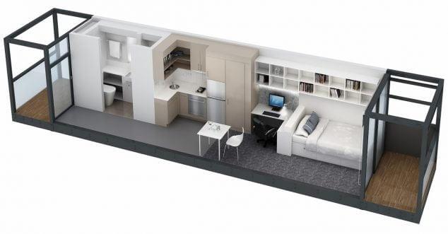 15 Studio Loft Apartment Floor Plans for Home Designs