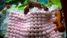 Kasnakla Bebek Battaniyesi Yapımı