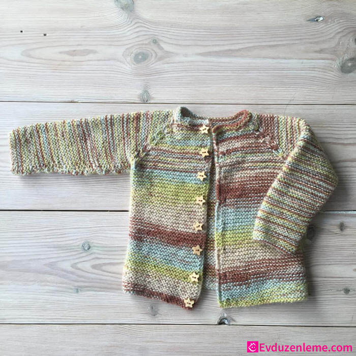 Baby Girls Knit Cardigan Models