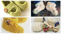 Kız Bebek Örgü Patik Modelleri Minik Ayaklara Özel