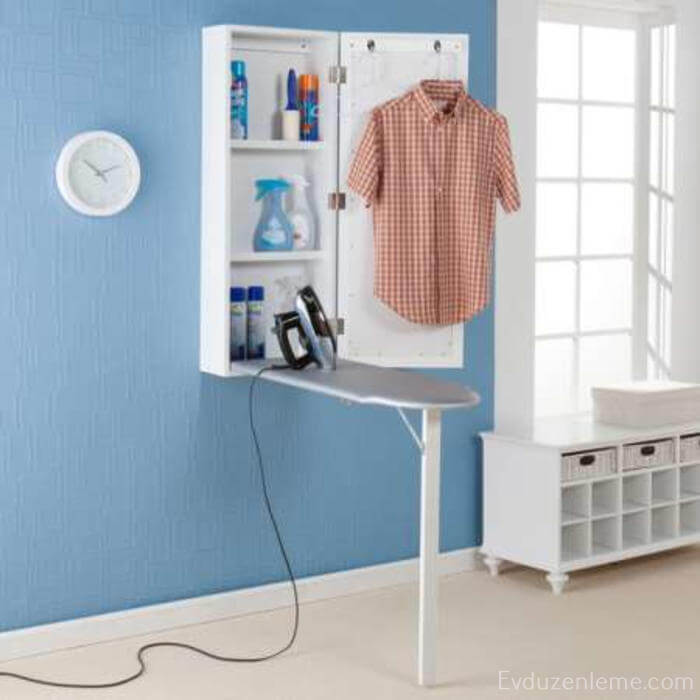 12 banyo dolab ve t masas ev d zenleme - Ironing board solutions for small spaces ideas ...