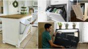 Evdeki dağınıklığı saklamanın 17 zekice tasarlanmış fikirleri