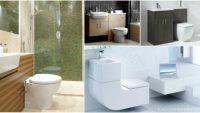 Küçük banyolar için 15 tasarım ipucu