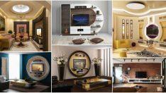 Televizyon ünitesinin kurulması ve dekore edilmesi için 17 yaratıcı yol