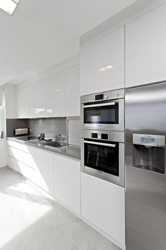 21 Kullanışlı Beyaz Mutfak Modelleri Evduzenleme Com