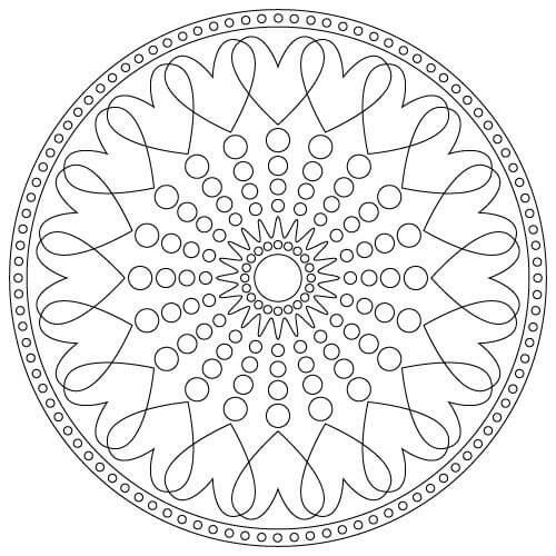 Mandala örnekleri Mandala çizim örnekleri