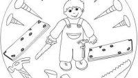 Çocuklar için Keyifli ve Basit Mandala Örnekleri
