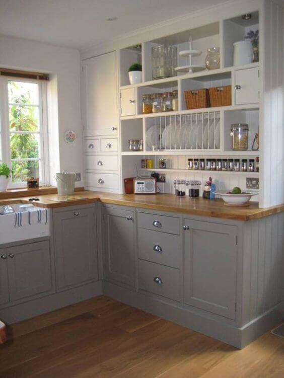 36 Small Kitchen Models and Space Saving Solutions