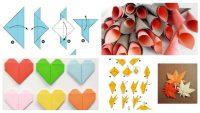Origami Örnekleri ile Kendi Dekoratif Ürünlerinizi Tasarlayın