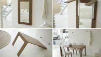Duvara Monte Edilebilen En Kullanışlı Masa Modelleri
